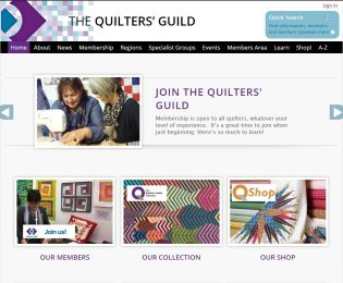 Quilters Guild Website 2018