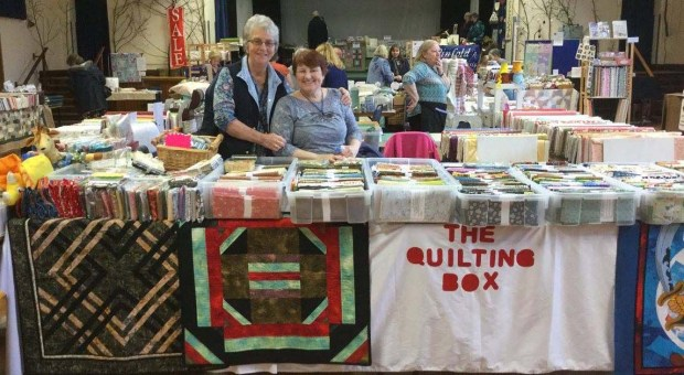 The Quilting Box Edna Madeley stand.jpg