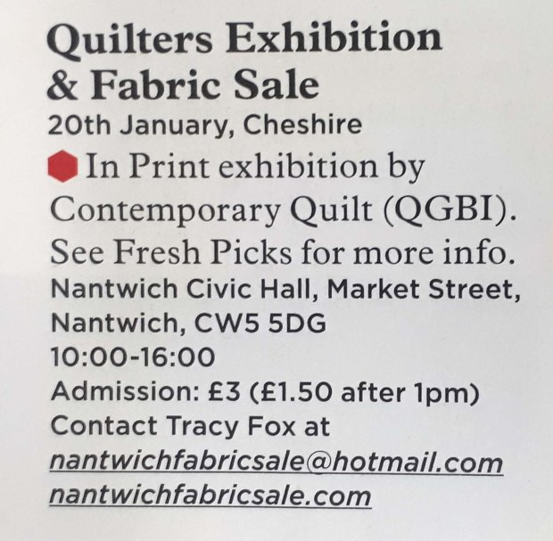 Nantwich Fabric Sale Todays Quilter 02