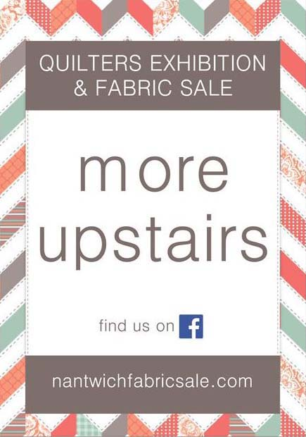 Nantwich Fabric Sale More Upstairs Poster tracy fox