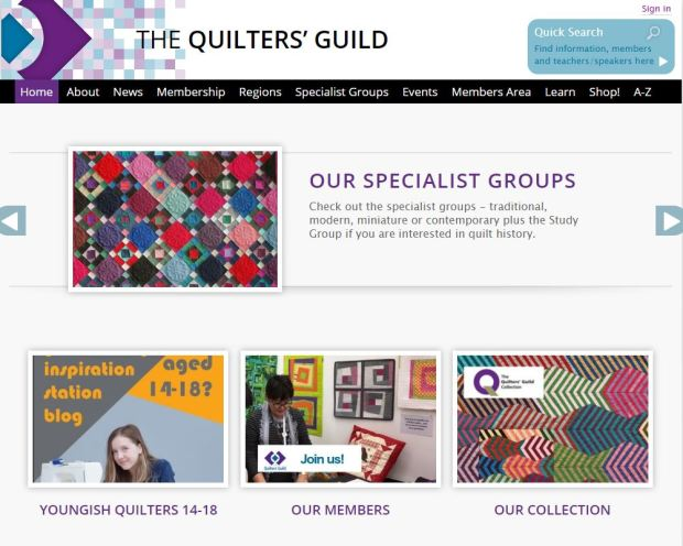 Quilters Guild Website