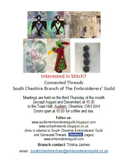 South Cheshire Embroiderers Guild 2020
